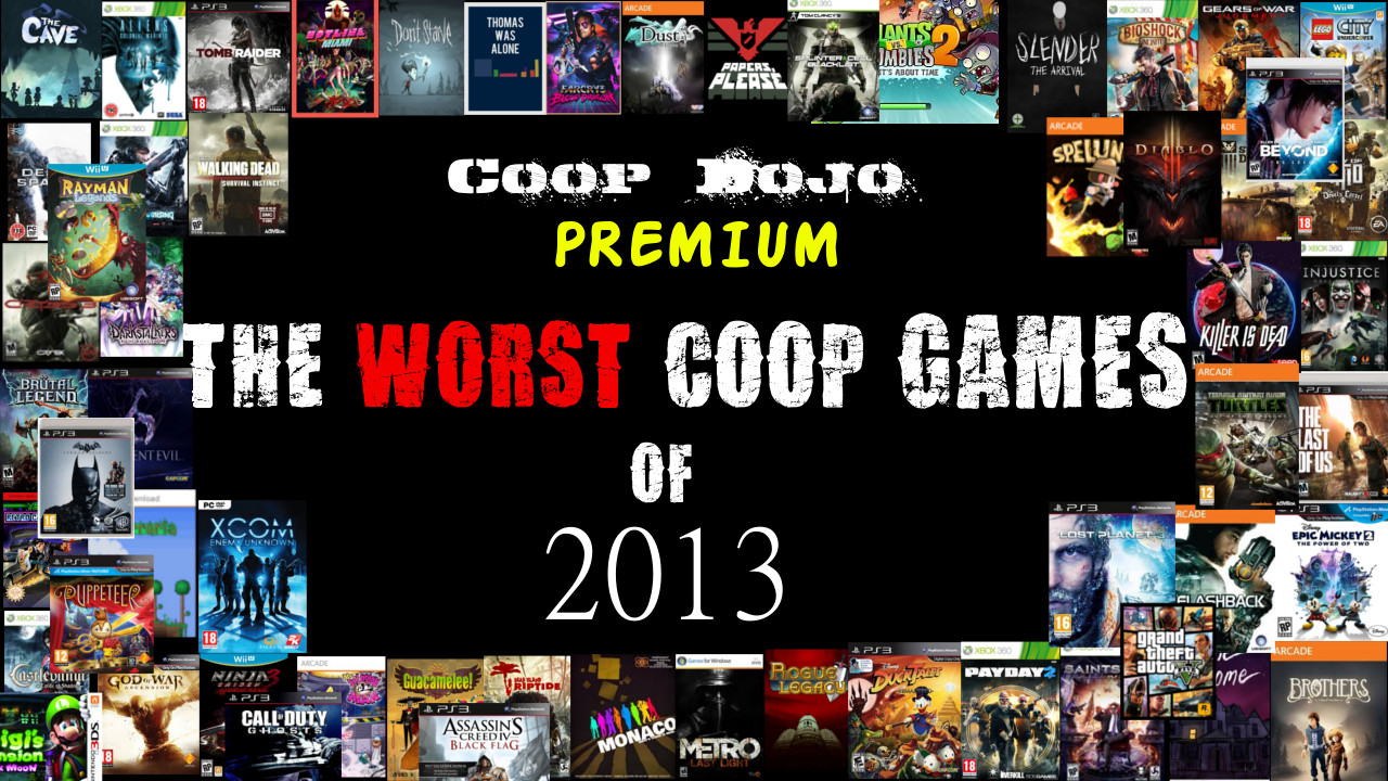 The Worst Cooperative Games Of 2013