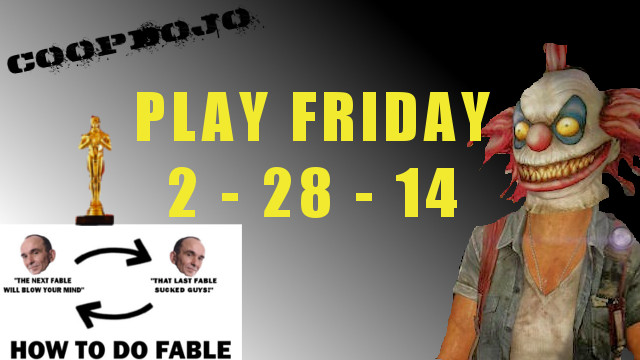 Game News: Play Friday For The Week Of Feb 28th, 2014