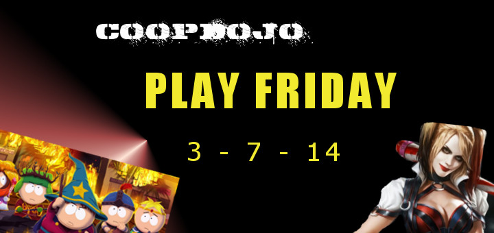 Game News: Play Friday For The Week Of Mar 7th, 2014