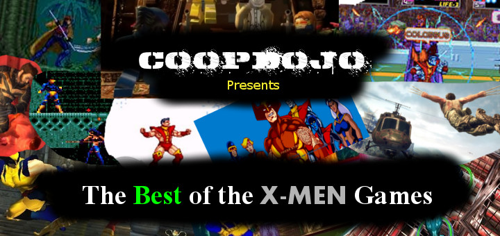 The Best Of The X-Men Games