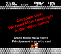 More Diversity In Language In Video Games!