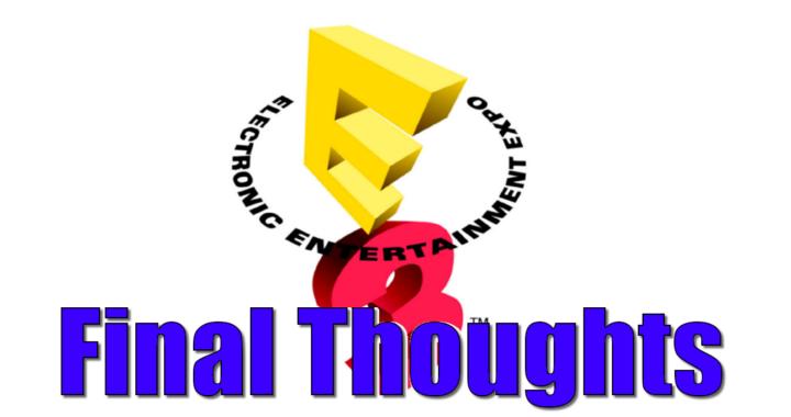 Our E3 Final Evaluation