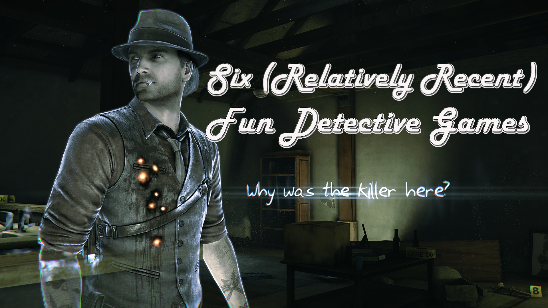Six (Relatively Recent) Fun Detective Games
