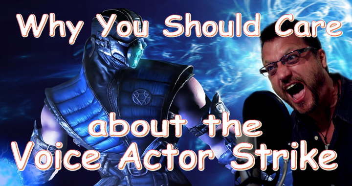 Why You Should Care About The Voice Actor Strike