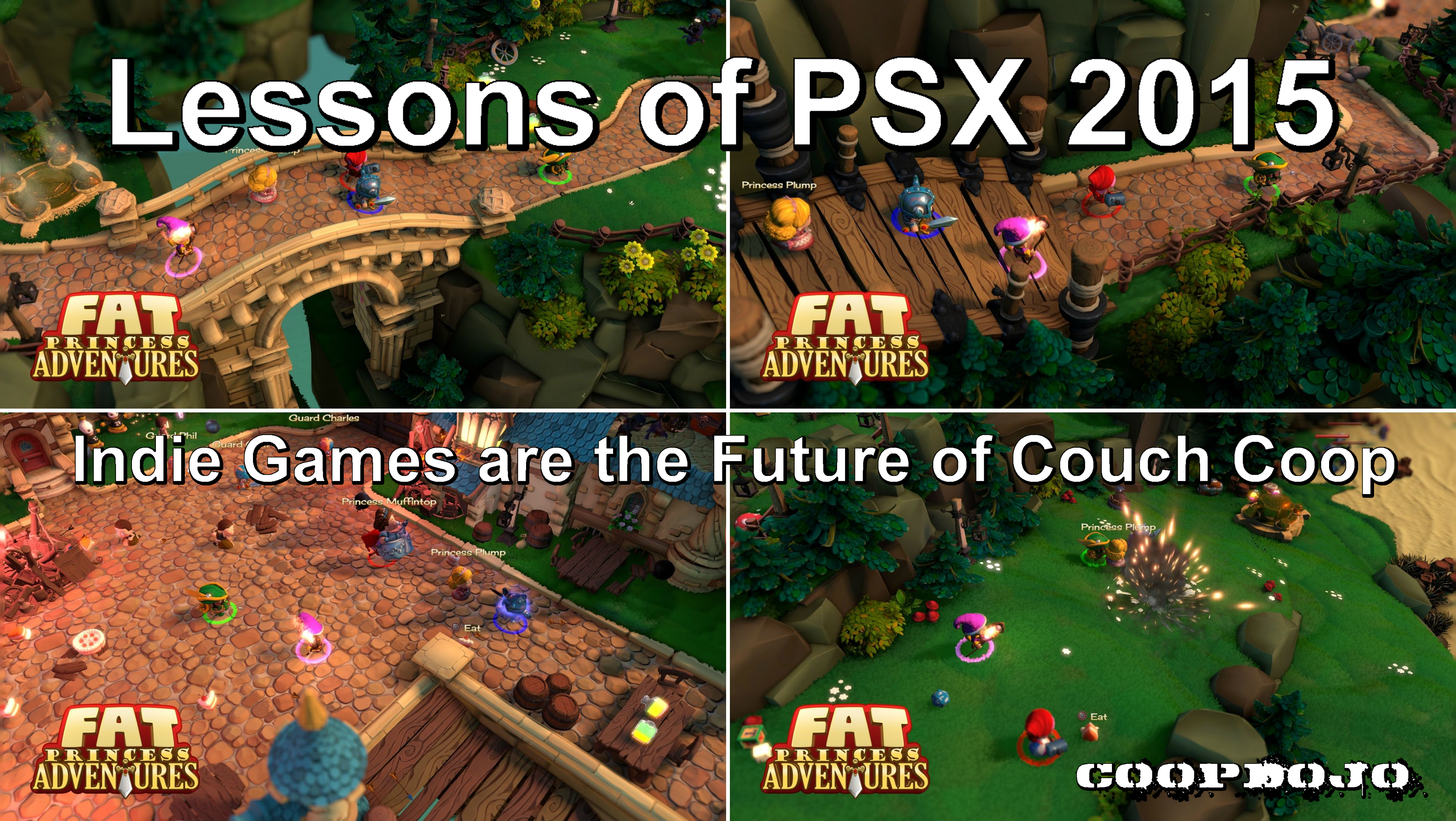 Lessons Of Playstation Experience 2015: Indie Games Are The Future Of Couch Coop