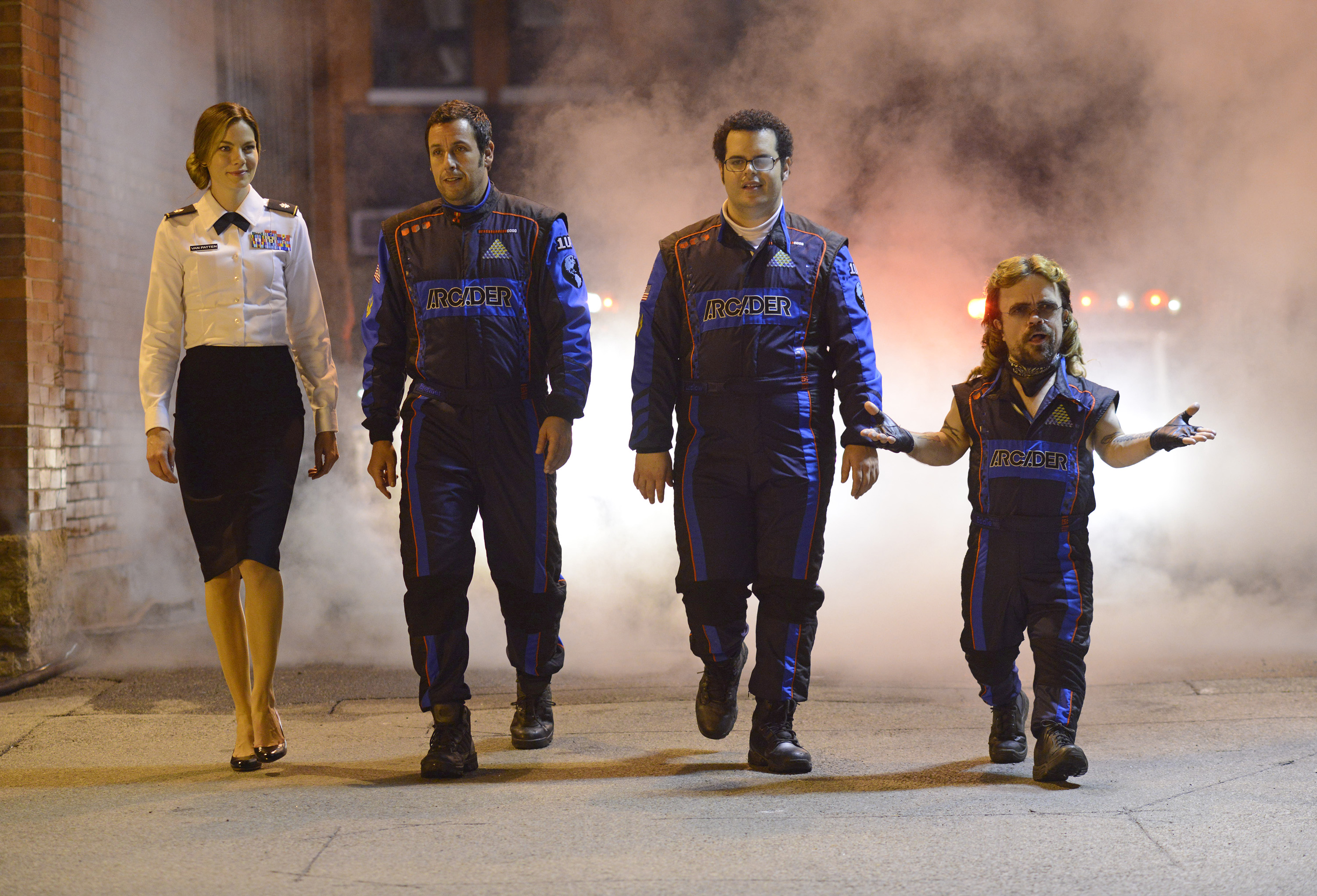 Hey what do Pixels and the Sansa Stark have in common?  Despite his best efforts, Peter Dinklage could not save either.
