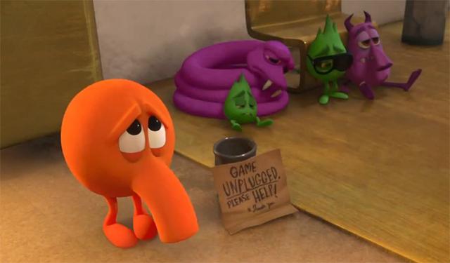 Q-Bert is having a nice run as everyone's favorite cameo character.