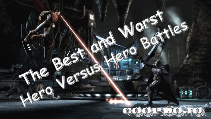The Best And Worst Hero V Hero Battles In Video Games