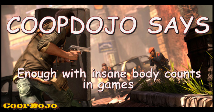 CoopDojo Says Enough With Insane Body Counts In Games