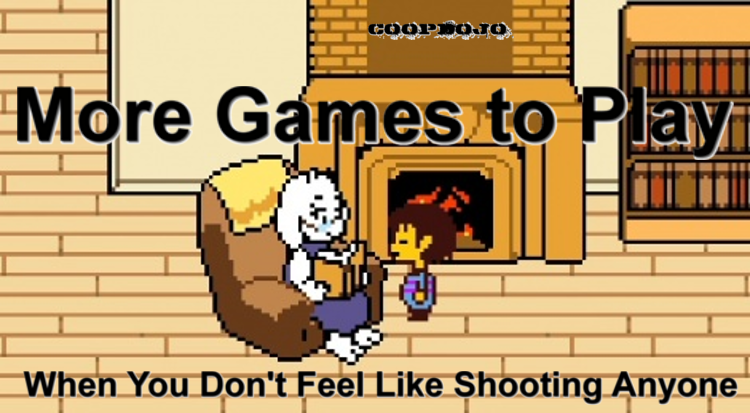 Nonviolent Video Games When You Don't Feel Like Shooting Anybody