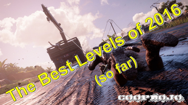 Best Levels In Video Games Of 2016 (so Far)