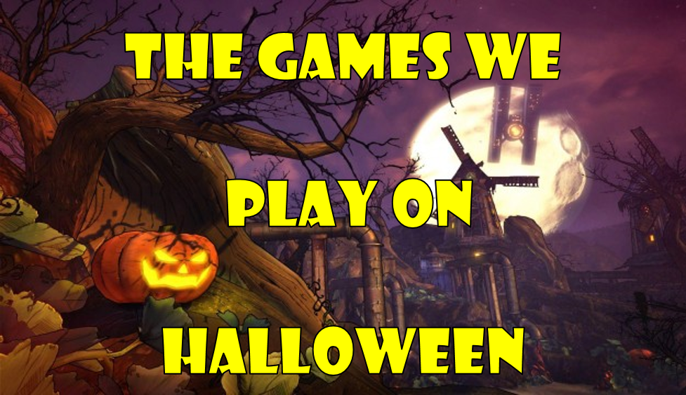 The Video Games We Play On Halloween