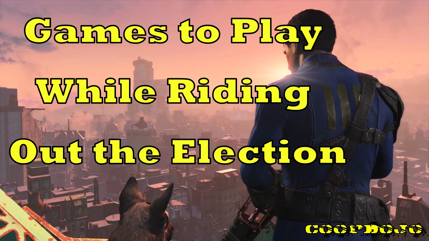 Games To Play To Ride Out The Election