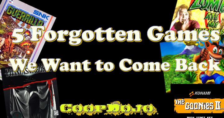 Forgottengames