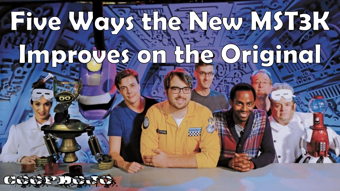 Five Ways The NEW MST3K Improves On The Original