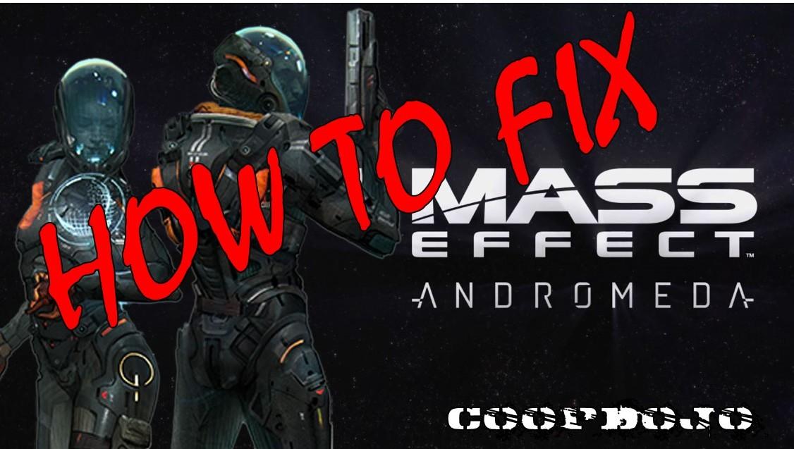 How To Fix Mass Effect