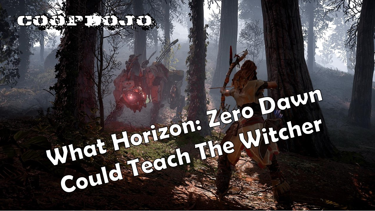 What Horizon: Zero Dawn Could Teach The Witcher