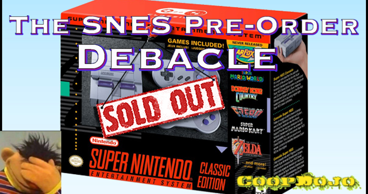 The SNES Pre-Order Debacle: Or How I Learned To Stop Worrying And Love The RetroPie