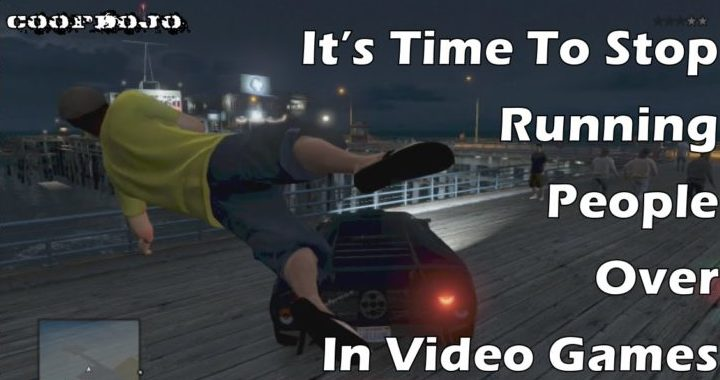 It's Time To Stop Running People Over In Video Games