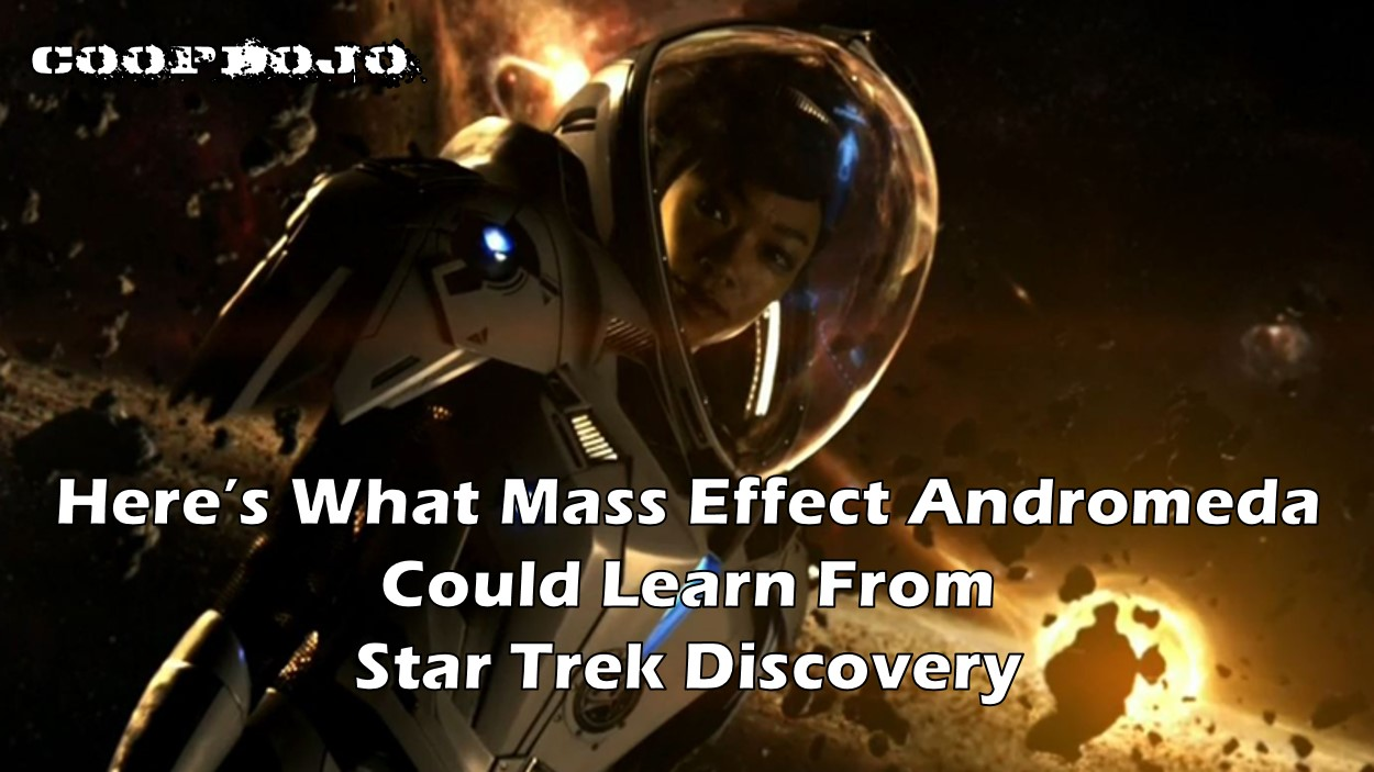 What Mass Effect: Andromeda Should Learn From Star Trek: Discovery
