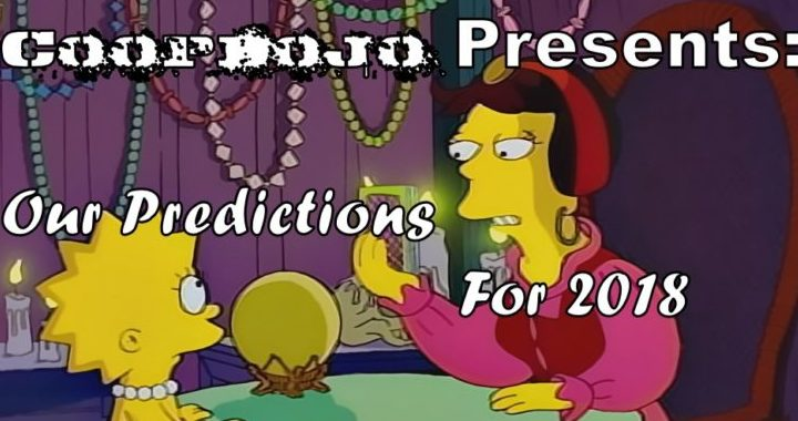 Our Predictions For 2018