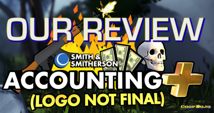 The world of Accounting+ is equally dark and hilarious. Here's our review.